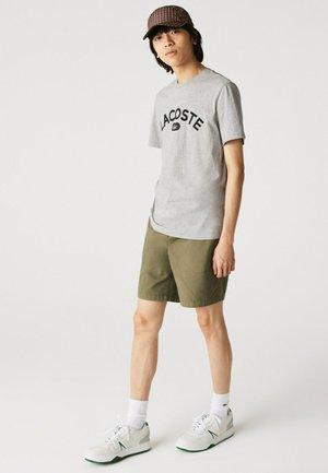 Print T-shirt - gris chine