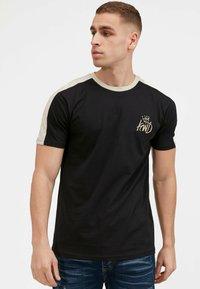 Kings Will Dream - 2PACK - Print T-shirt - oatmeal / black - 2