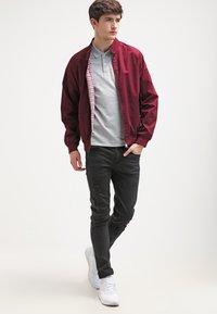 Selected Homme - SLHARO EMBROIDERY - Polo shirt - light grey melange - 1