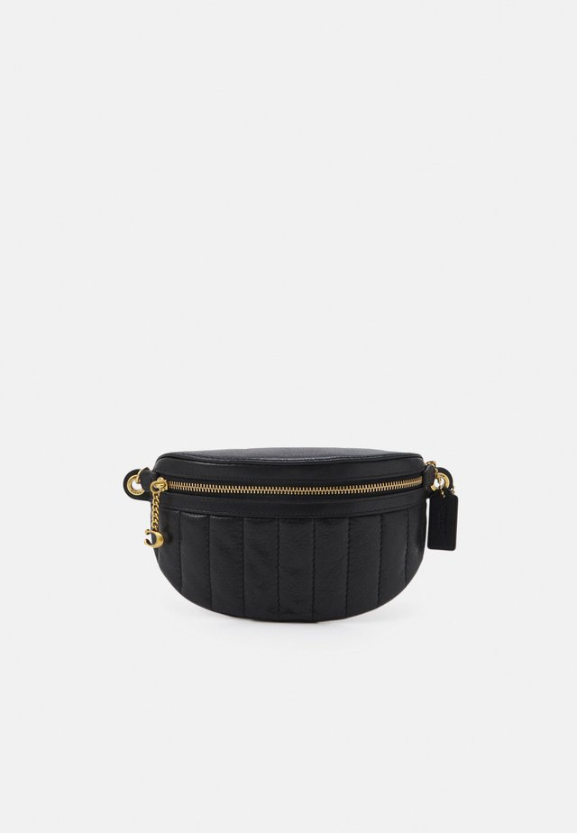 CHAIN BELT BAG - Bältesväska - black