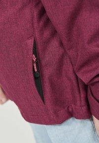 ZIGZAG - MANON MELANGE WATERPROOF - Light jacket - 4072 pink peacock - 6