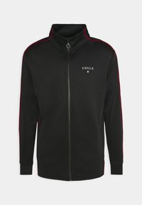 SIKSILK - IMPERIAL ZIP THROUGH FUNNEL NECK - Giacca sportiva - black - 4