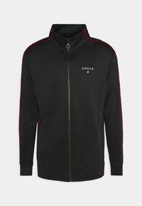 IMPERIAL ZIP THROUGH FUNNEL NECK - Sportovní bunda - black