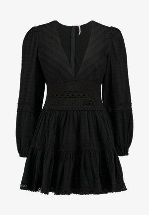 THE DELIGHTFUL MINI - Denní šaty - black