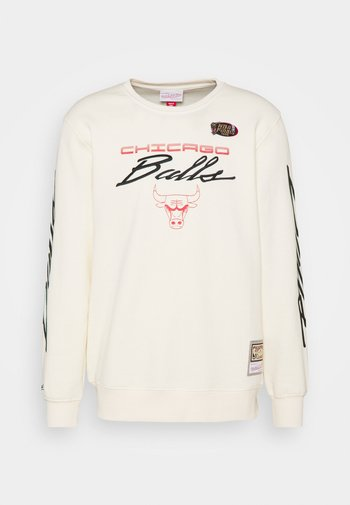 NBA CHICAGO BULLS FLAMES RACING CREWNECK