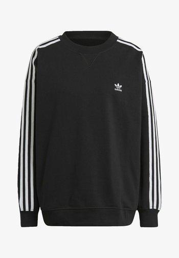 OS ADICOLOR ORIGINALS RELAXED PULLOVER - Sweatshirt - black