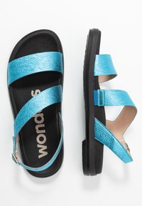 WONDERS - Sandaler - blue metallic - 3