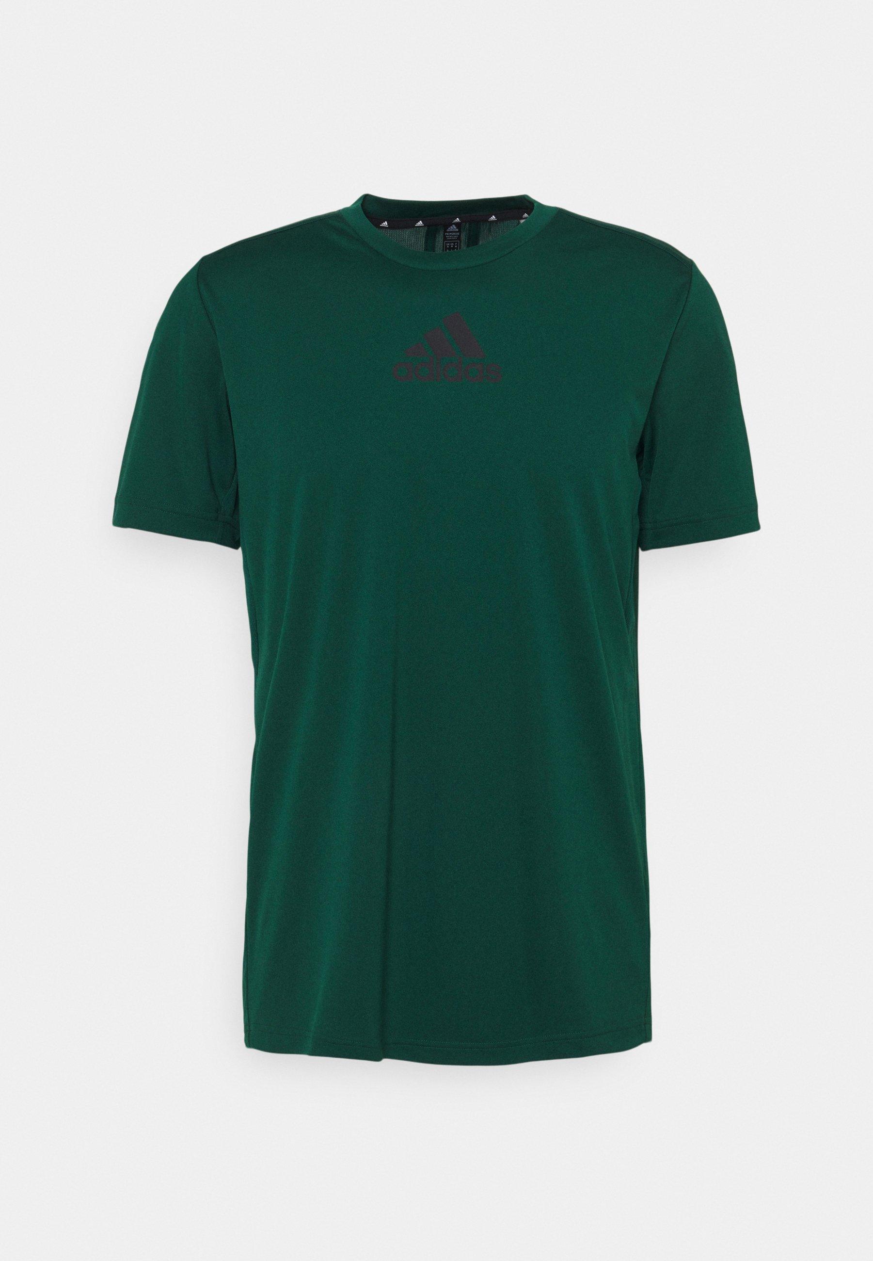 Homme 3 STRIPES BACK DESIGNED 2 MOVE AEROREADY - T-shirt imprimé