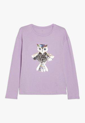 GIRL - Langarmshirt - purple orchid