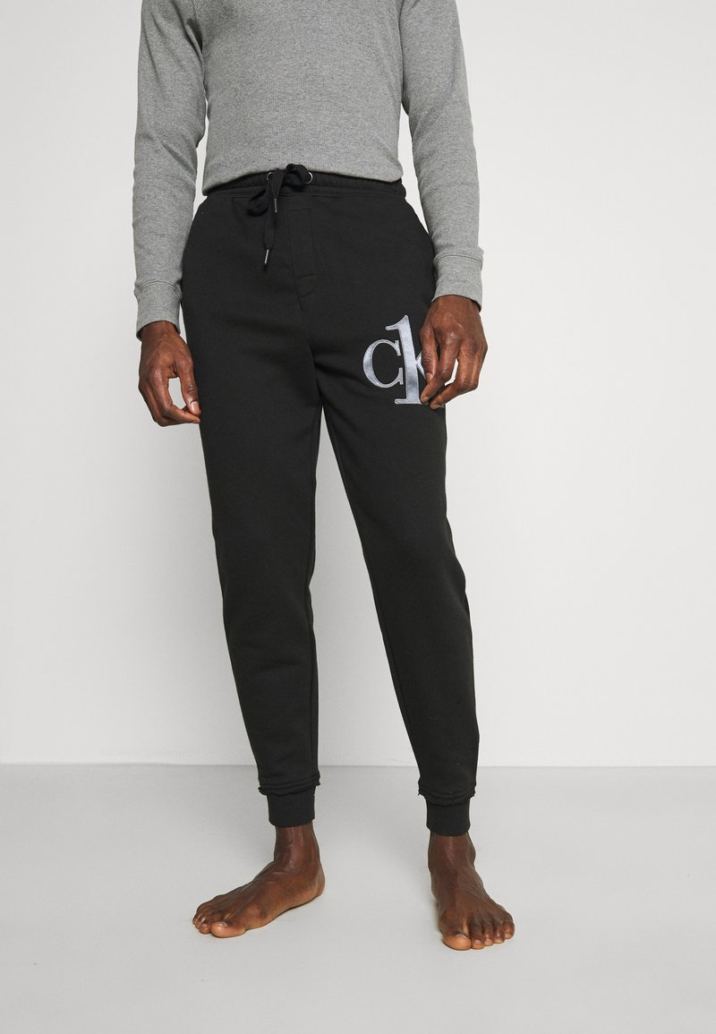 Calvin Klein Underwear - ONE RAW JOGGER - Pyjama bottoms - black