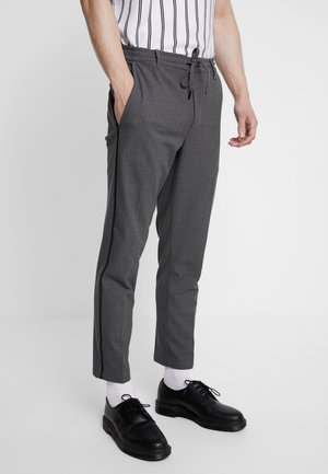 PHILIP PANT GALON - Trousers - grey melange