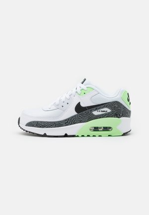 AIR MAX 90 UNISEX - Trainers - white/black/vapor green