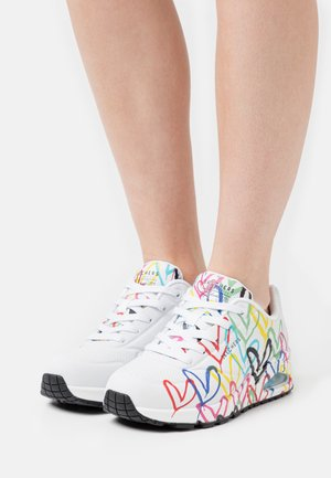 UNO - Joggesko - white/multicolor