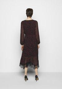 DKNY - Day dress - black rudolph/red powder/pink multi - 2