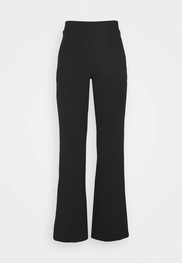 JULIE PETITE TROUSERS - Trousers - black