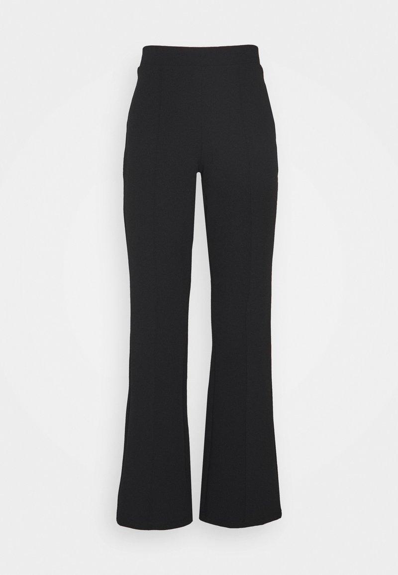 Gina Tricot Petite - JULIE PETITE TROUSERS - Pantalon classique - black