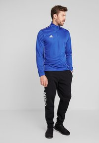 adidas Performance - CORE 18 TRAINING TOP - Sports shirt - boblue/white - 1