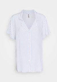 Lindex - NIGHT STRIPE - Pyjama top - blue - 0