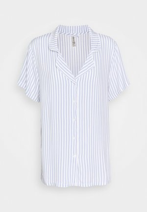 NIGHT STRIPE - Pyjamasoverdel - blue
