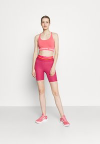 adidas Performance - TECHFIT HIGH-RISE TIGHTS - Tights - berry - 1