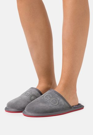 EXCLUSIVE COZY SLIP - Slippers - grey