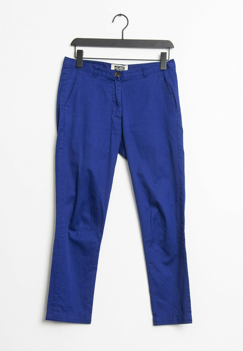 Weekday - Trousers - blue