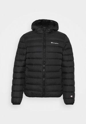 HOODED JACKET - Sportovní bunda - black