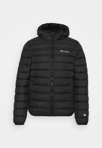 HOODED JACKET - Training jacket - black