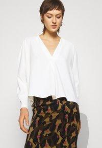 Diane von Furstenberg - LORNA SKIRT - Mini skirt - giant cocoa brown - 3