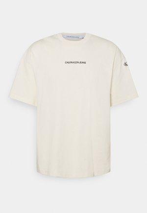 TEE UNISEX - Print T-shirt - muslin