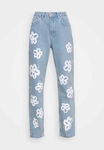 BUD - Jeans a sigaretta - light blue