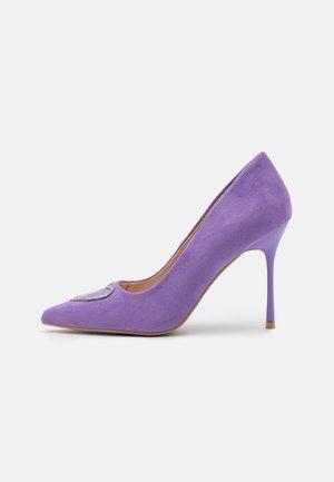 ALEZIO - Classic heels - lilac