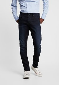 G-Star - 3301 SLIM - Jean slim - blue - 0
