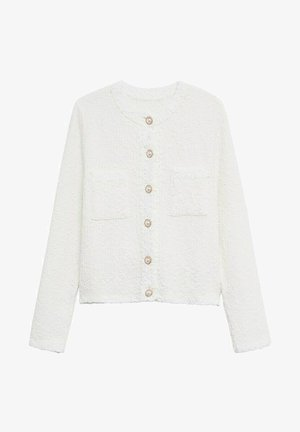 UPPER - Cardigan - blanco