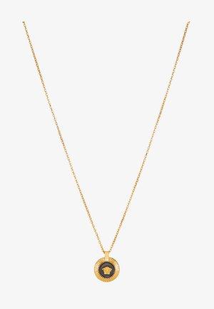 Necklace - nero/oro caldo