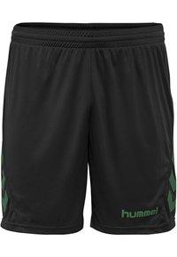 Hummel - DUO SET - Sports shorts - evergreen/black - 3