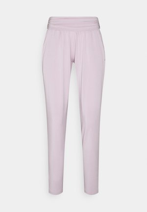 PANTS LONG LOOSE - Pantalones deportivos - rose