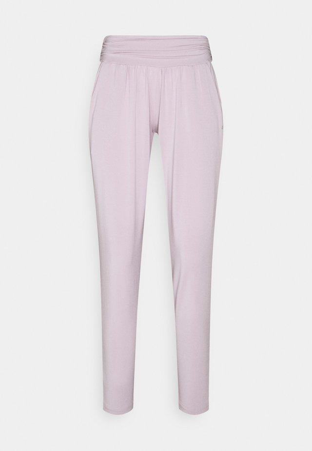 PANTS LONG LOOSE - Verryttelyhousut - rose