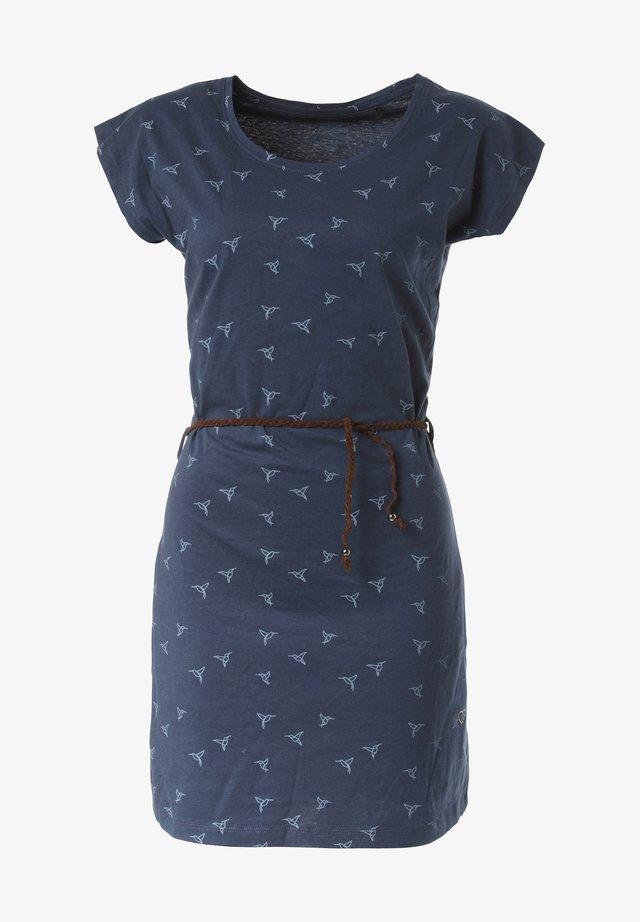 KLEID LULUA - Jerseyjurk - blue