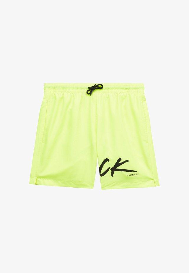 Shorts da mare - safety yellow