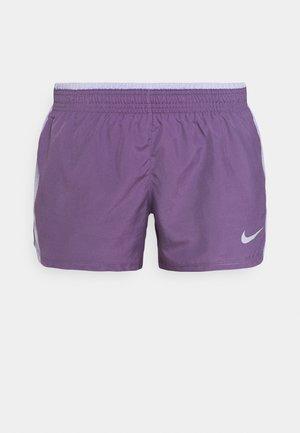 10K SHORT - Sportovní kraťasy - amethyst smoke/purple dawn/amethyst smoke/wolf grey