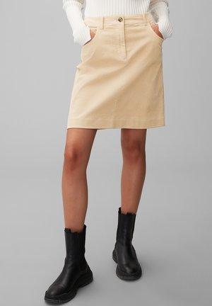 A-line skirt - vintage stone