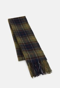 Barbour - TARTAN SCARF AND GLOVE GIFT SET UNISEX - Scarf - classic/olive - 5
