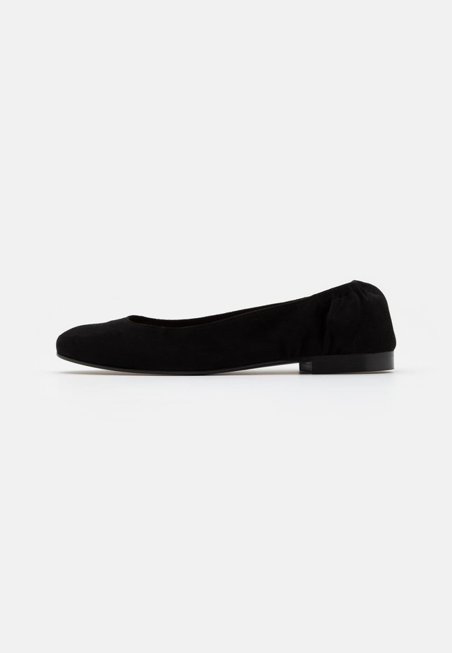 ELASTIC - Ballerines - black