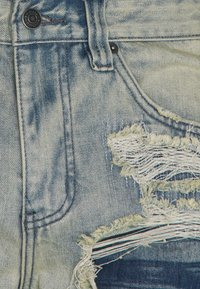 Jaded London - EXTREME RIPPED  - Jeans a sigaretta - blue - 2
