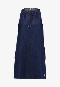 Q/S designed by - Denim dress - dark blue denim - 4