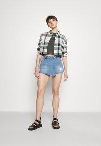 ONLY - ONLTEXAS LIFE - Denim skirt - light blue denim - 1