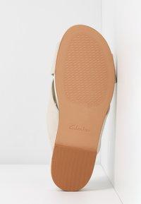 Clarks - PURE CROSS - Ciabattine - white - 6