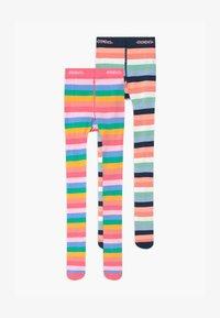 Ewers - RAINBOW STRIPE 2 PACK - Panty - sorbet pink/tinte - 0