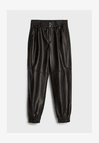 Bershka - Pantalon classique - black - 4